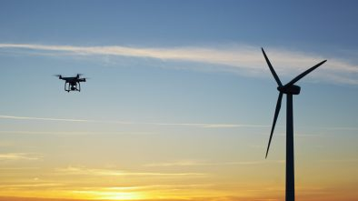 renewable energy drones wind farm