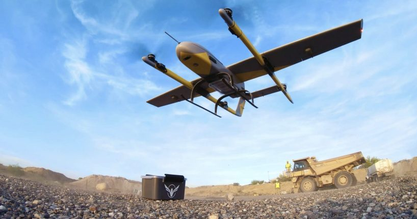 Volansi delivery drone middle-mile drone delivery