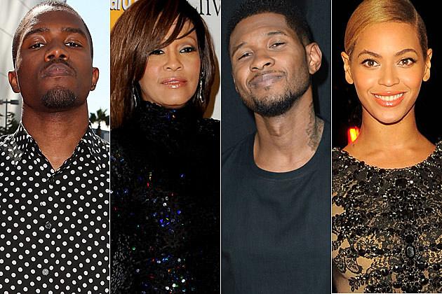 Frank Ocean, Whitney Houston, Usher, Beyonce