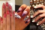 outrageous nail art nicki minaj