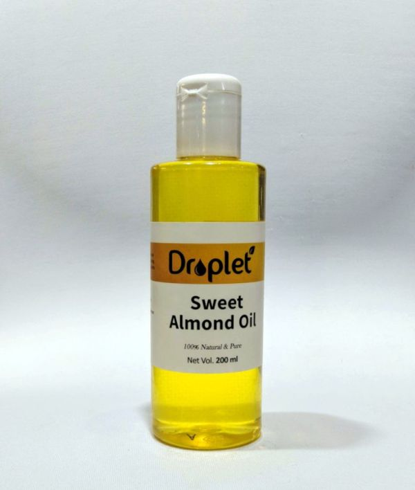 natural sweet almond oil