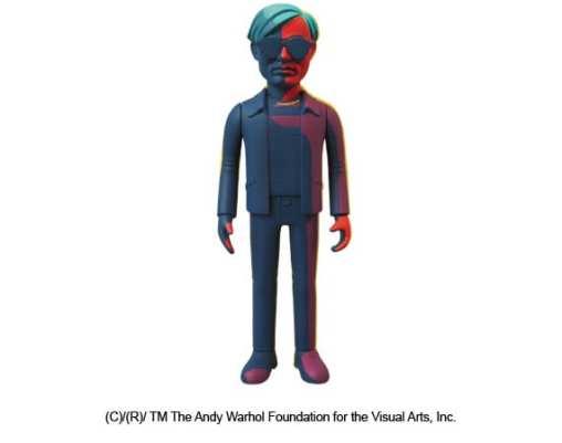 MEDICOM TOY – ANDY WARHOL VCD FIGURES