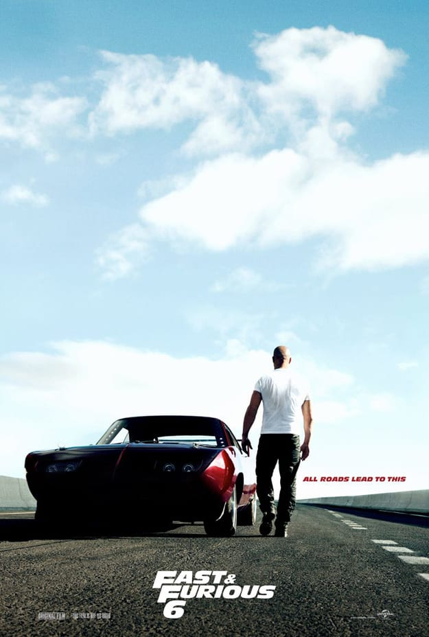 The Teaser Poster for Fast & Furious 6!