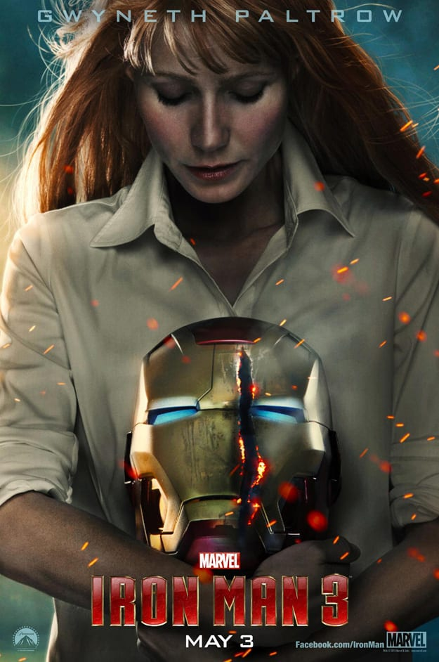Two New Iron Man 3 Character Posters