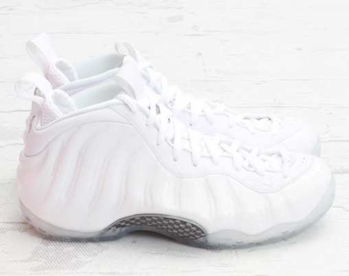 """NIKE AIR FOAMPOSITE ONE """"WHITE"""" ARRIVING AT RETAILERS"""