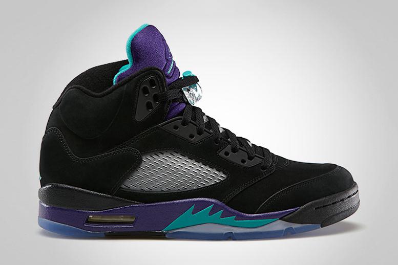 """Air Jordan 5 Retro """"Black Grape"""""""