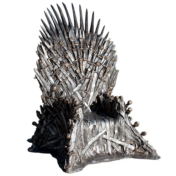 HBO GAME OF THRONES – IRON THRONE LIFE-SIZE REPLICA | AVAILABLE NOW