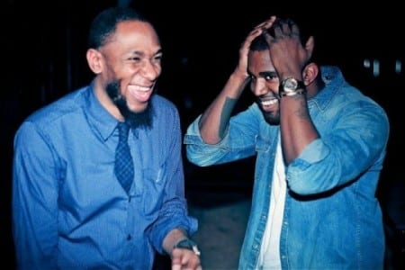 Yasiin Bey – The Light Is Not Afraid Of The Dark (Prod. by Kanye West)