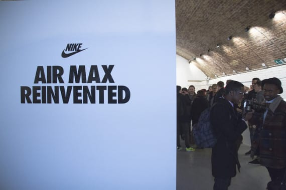NIKE AIR MAX REINVENTED EXHIBITION – LONDON