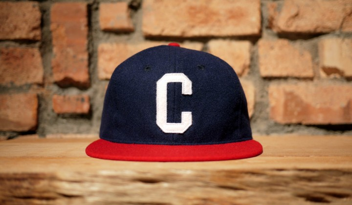 """EBBETS FIELD FLANNELS X CROSSOVER """"C"""" CAP"""