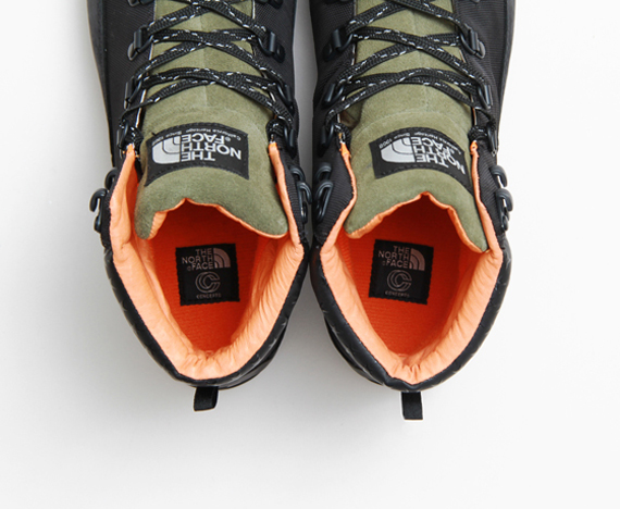 """CONCEPTS X THE NORTH FACE """"BACK TO BERKELEY"""" BOOTS"""