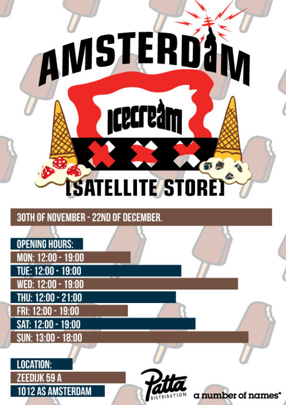 ICE CREAM SATELLITE STORE – XXX AMSTERDAM