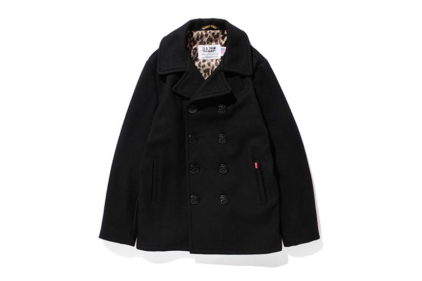 Stussy x Schott 2013 Winter Savannah Pea Coat