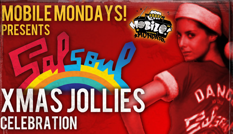Mobile Mondays Presents Salsoul Xmas Jollies Celebration with Salsoul Records