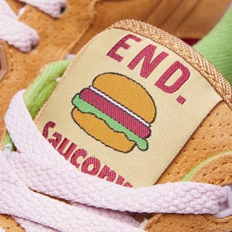 "END. X SAUCONY SHADOW 5000 – ""BURGER"""