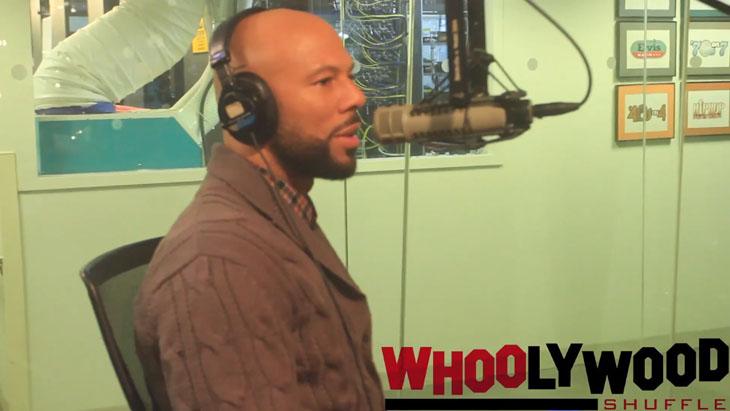 Common Interview w/ DJ Whoo Kid