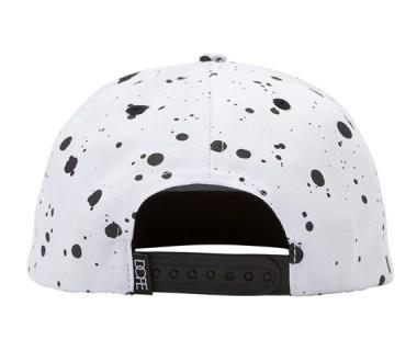 DOPE – PRINTED SPECKLE LOGO SNAPBACK CAP
