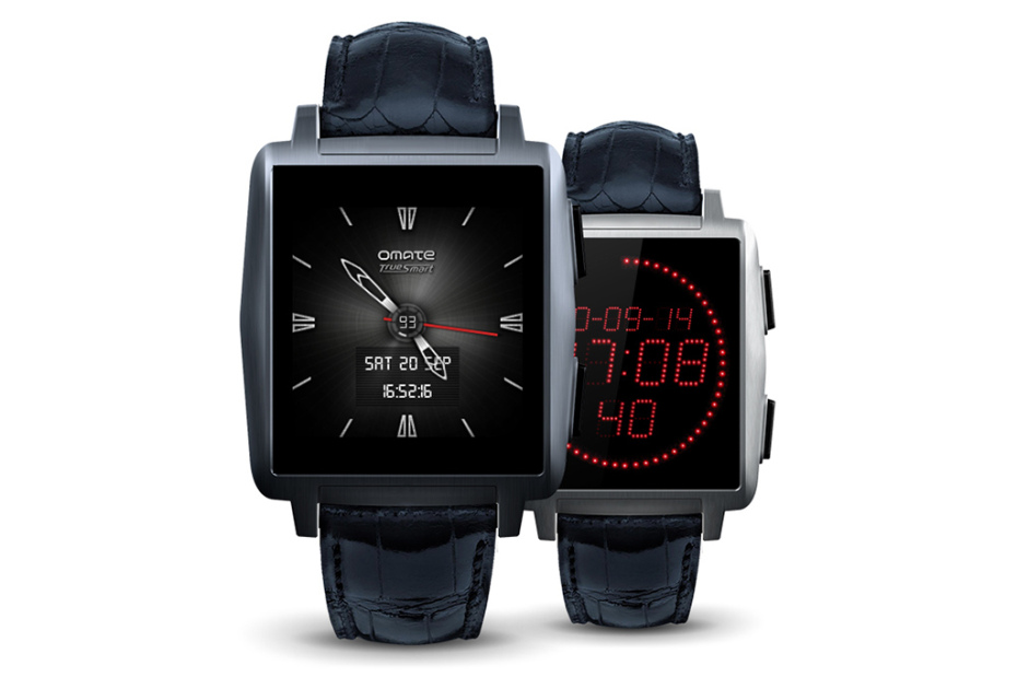 Omate X – The Fashionable Smartwatch
