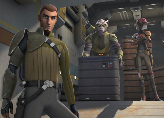 PREVIEW - STAR WARS: REBELS – ANIMATED SERIES
