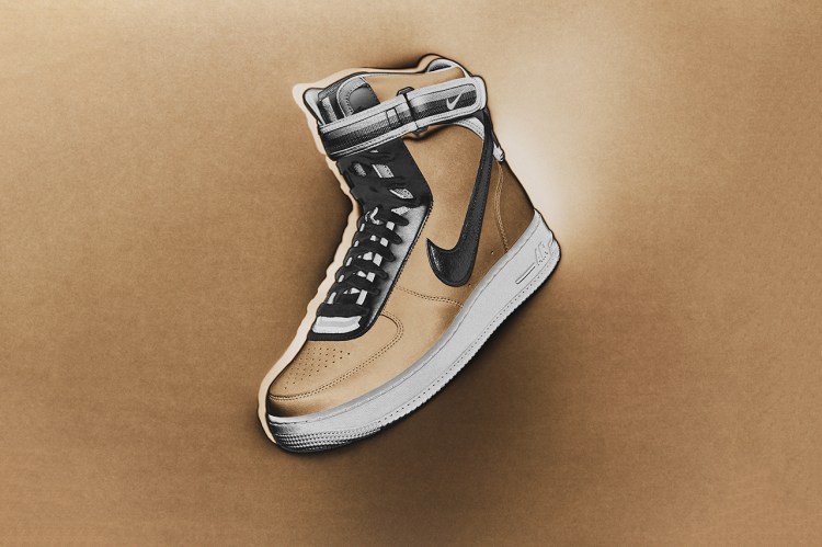 """A First Look at the Third and Final Nike + R.T. Air Force 1 """"Triangle Offense"""" Collection"""