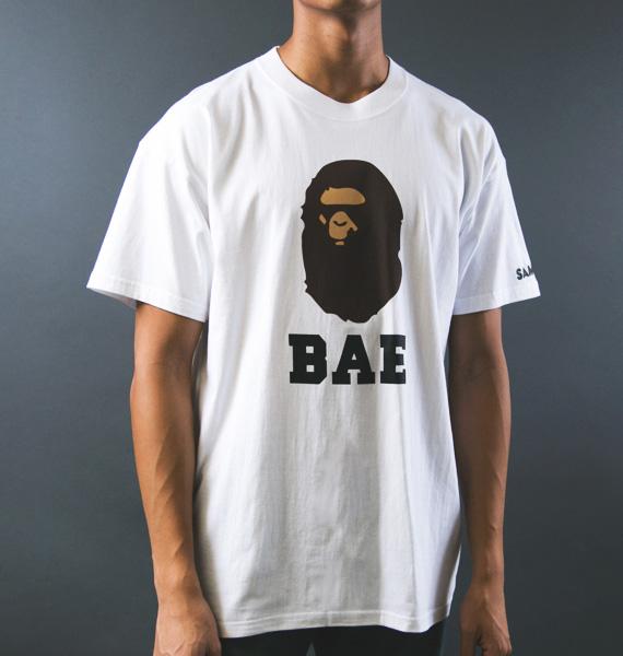 "SAMPLE BRAND – ""BAE"" BAPE PARODY T-SHIRT COLLECTION"