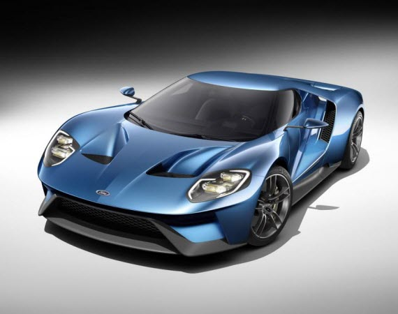 2016 FORD GT – UNVEILED WITH 600+ HP