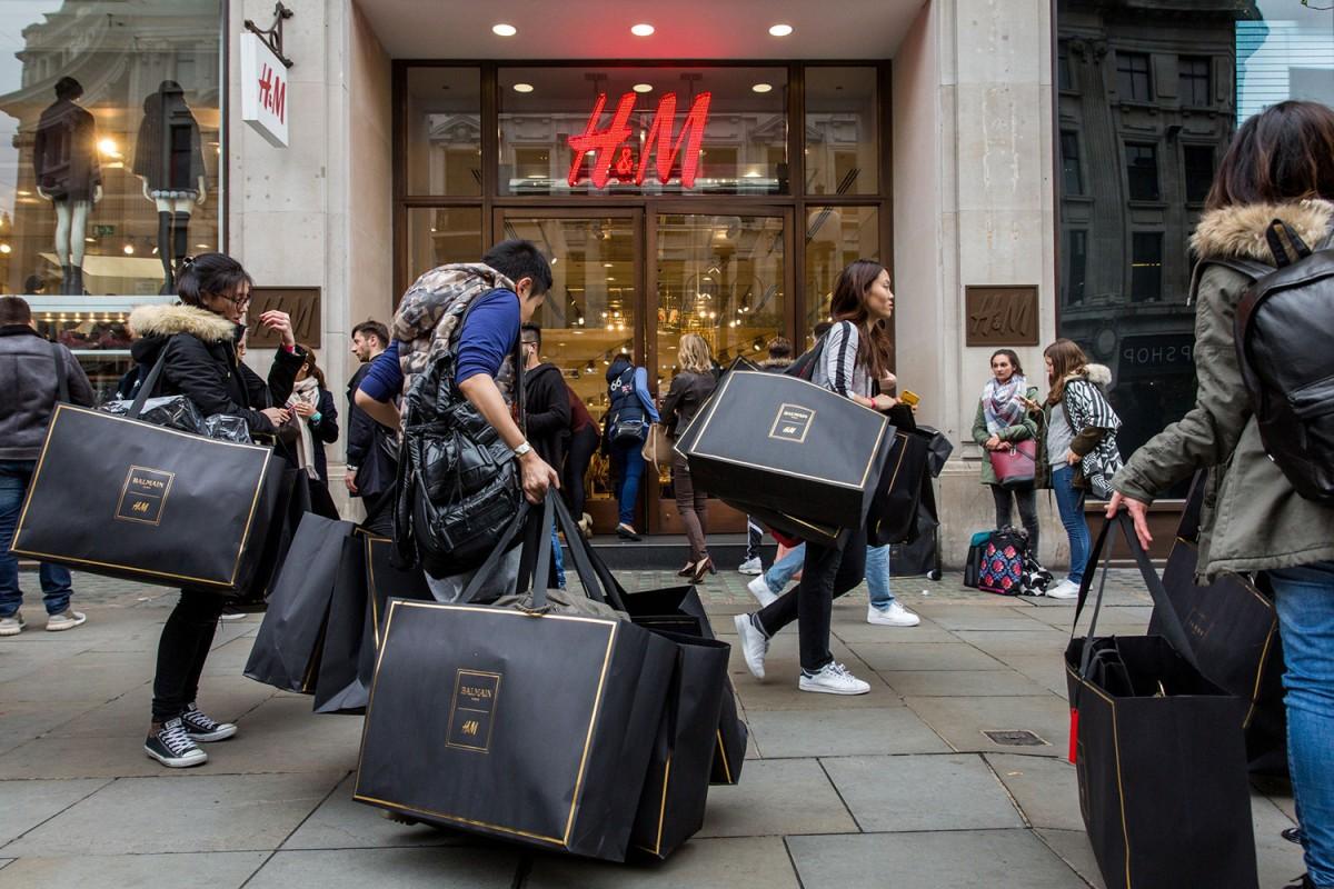 Today's H&M x Balmain Release Viewed Around the World