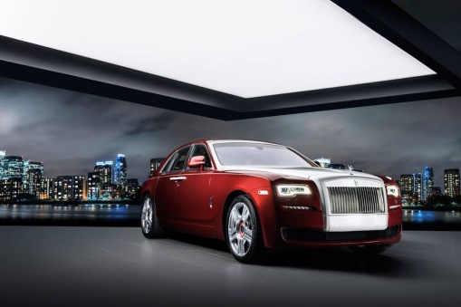 "Rolls-Royce ""Red Diamond"" Ghost"