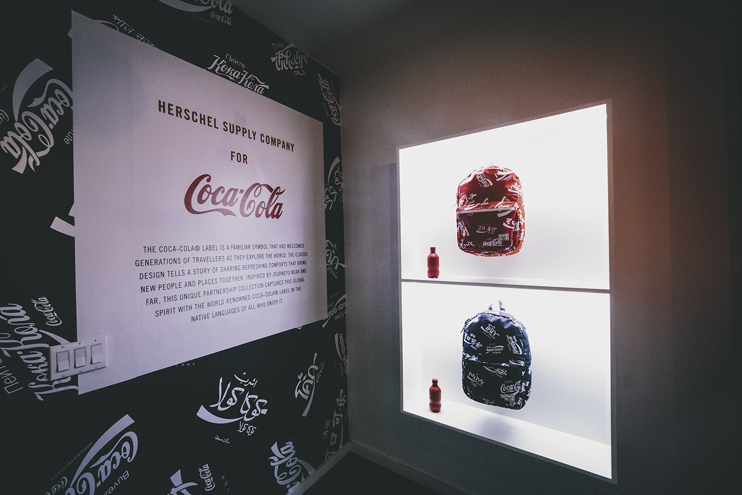 Herschel Supply & Coca-Cola Launch Special Collection and Pop-Up Shop