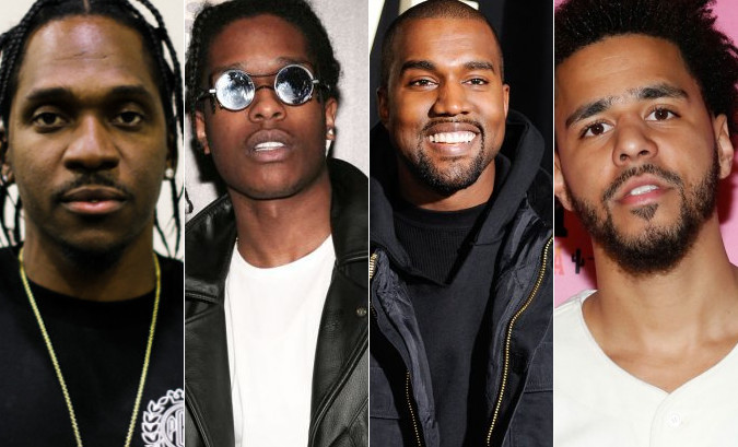 """Pusha T featuring Kanye West, A$AP Rocky & The-Dream """"M.P.A."""""""