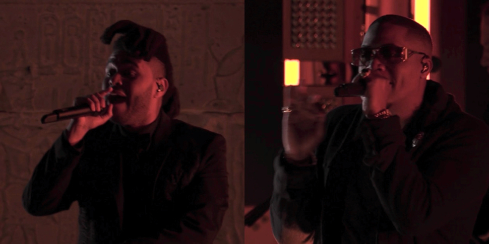 The Weeknd ft. Nas – Tell Your Friends (Live at The Met Gala)