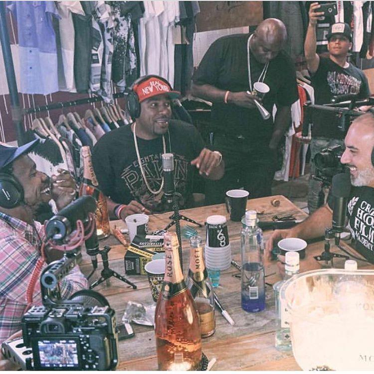 N.O.R.E. x DJ EFN – Drink Champs Podcast Ep. 8 f/ Curren$y