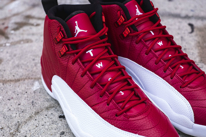 "Air Jordan 12 ""Gym Red"" Colorway"
