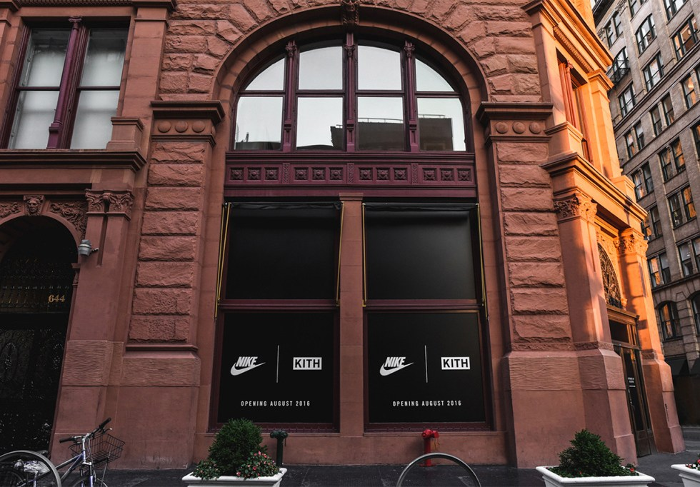 KITH x Nike Pop-Up Store in New York