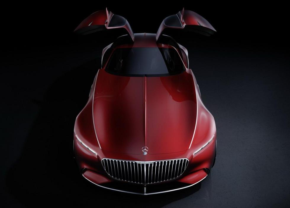 MERCEDES-MAYBACH 6 CONCEPT IS REVEALED