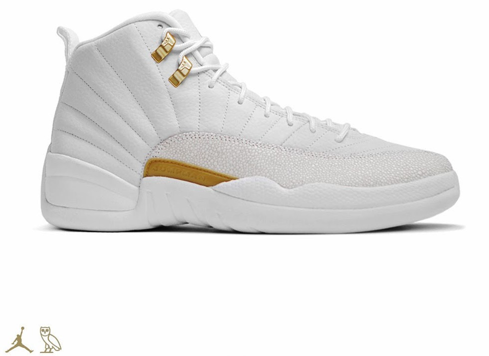 """THE AIR JORDAN 12 OVO """"WHITE"""" GETS A RELEASE DATE"""