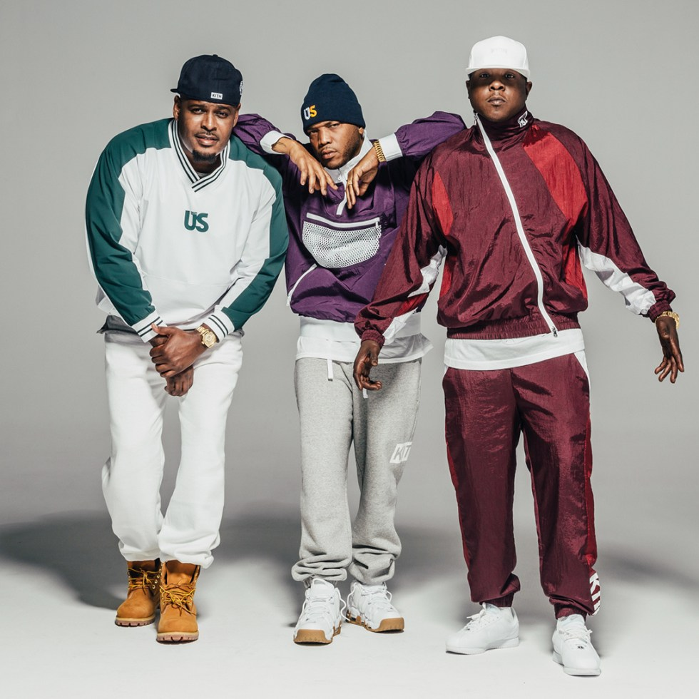 """KITH Pays Homage to New York With Its """"96 Collection"""" by Recruiting The Lox as Models"""