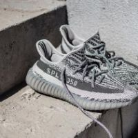 LOOK AT THE ALL GREY ADIDAS YEEZY BOOST 350 V2