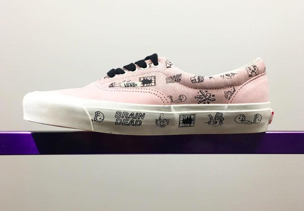 Brain Dead's First Footwear Collaborationq