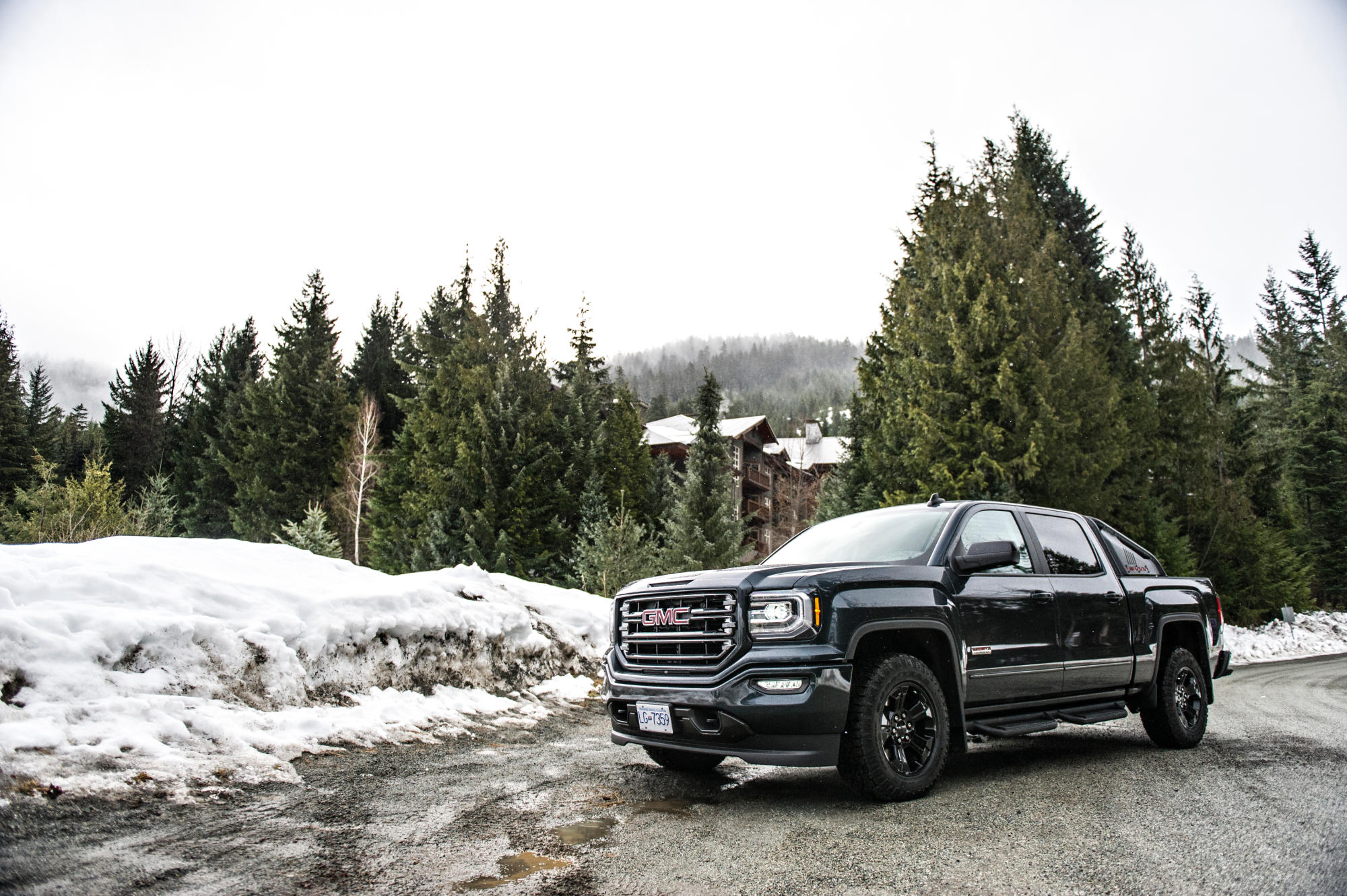 THE 2017 GMC SIERRA ALL TERRAIN X