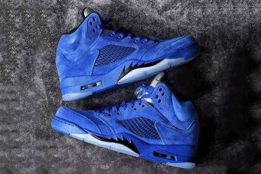 Air-Jordan-5-Blue-Suede-1