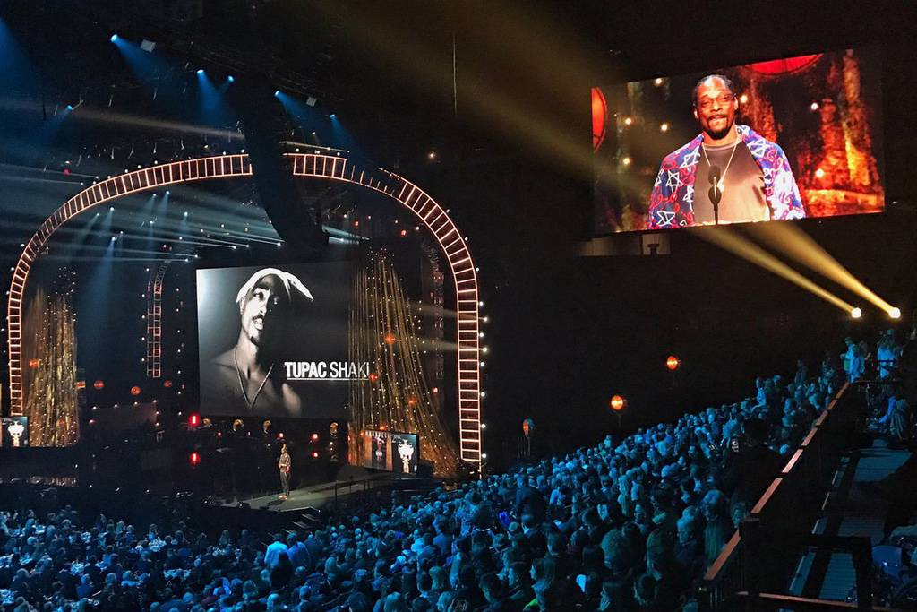 Tupac, Inducted Into the Rock and Roll Hall of Fame