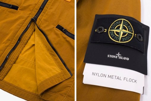 Stone Island Nylon Metal Flock Jacket