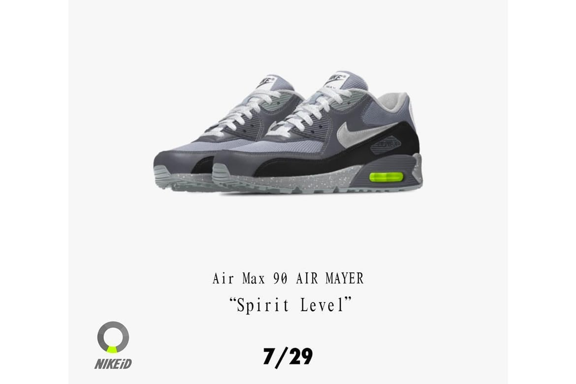 John Mayer Is Dropping His DIY Nike Air Max 90s
