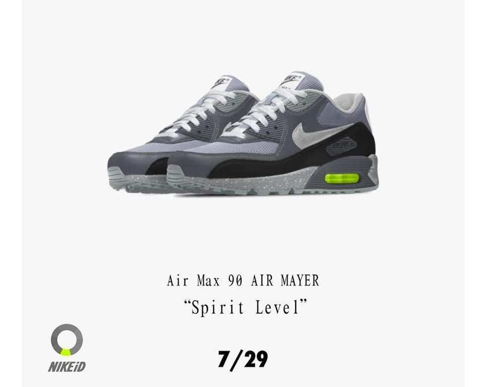John Mayer Is Dropping His DIY Nike Air Max 90s