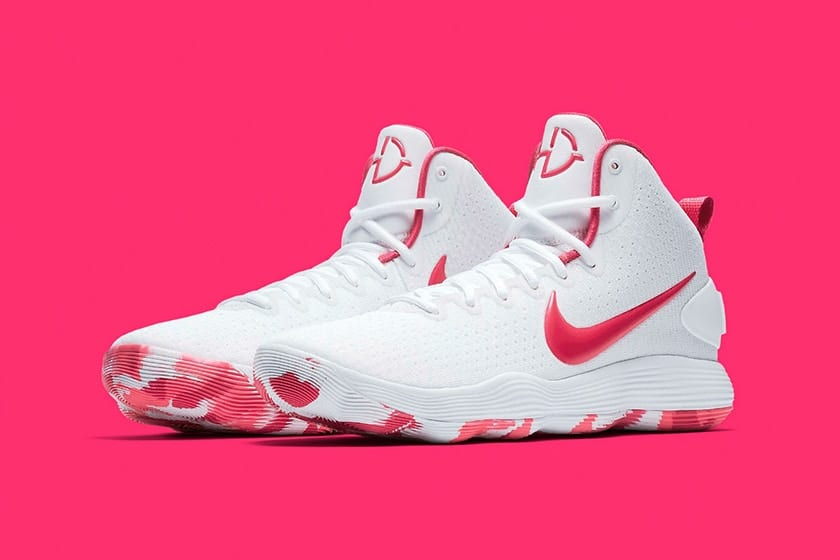 "Nike x Breast Cancer Awareness - Hyperdunk ""Kay Yow"" Colorway"