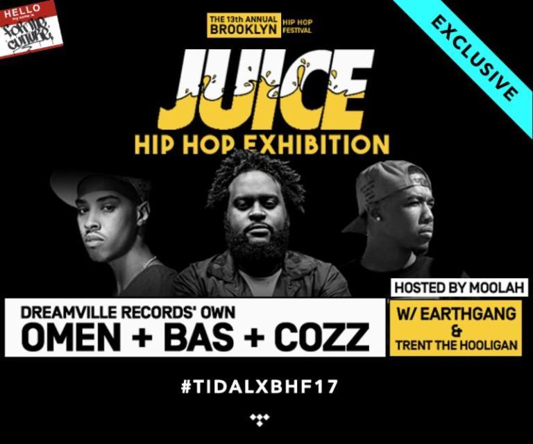 #BHF17 JUICE Hip-Hop Exhibition
