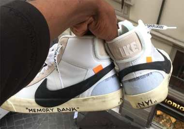 OFF WHITE X NIKE FOOTWEAR COLLECTION DROPS ON 9/1