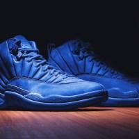 "Preview The Air Jordan 12 ""Blue Suede"""