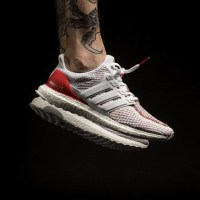 """The adidas UltraBOOST Multicolor """"Red"""" Is Now In Stores"""